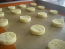coconut butter thins ready to bake
